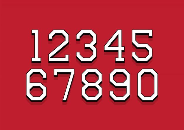 Lettere dell'alfabeto con 3d isometrico