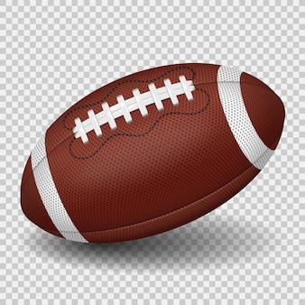 Illustrazione della sfera di football americano