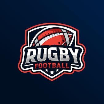 Sfondo di rugby di football americano