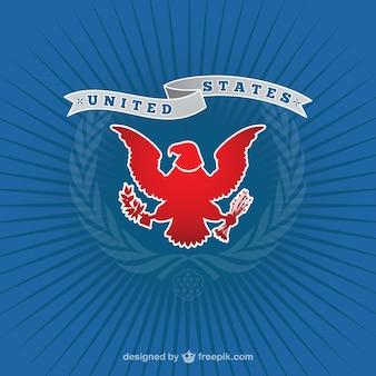 American logo con aquila