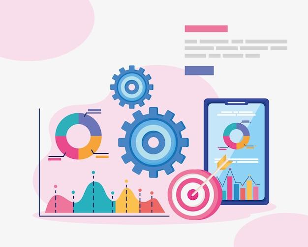 Dati analitici con smartphone