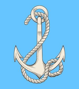 Illustrazione di ancoraggio
