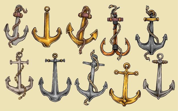 Tatuaggio di ancoraggio