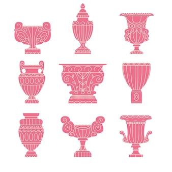 Antica collezione di anfore greche