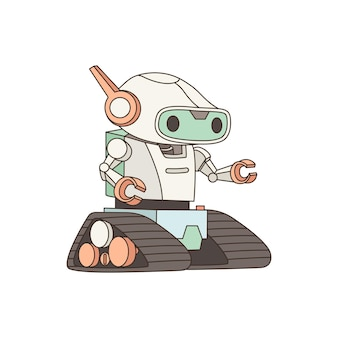 Robot android.