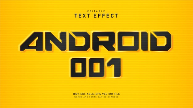 Effetto testo android