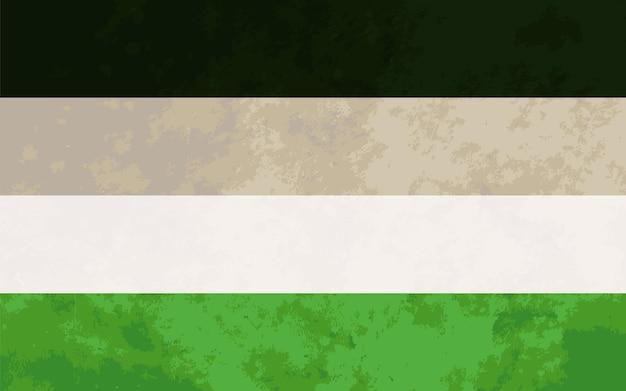 Segno di androfilia, bandiera dell'orgoglio di androfilia con texture