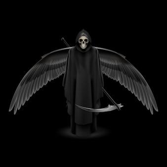Illustrazione di angelo della morte