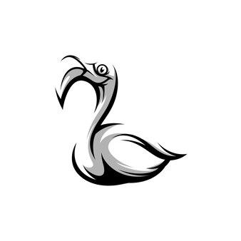 Disegno animale in bianco e nero