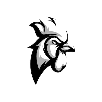 Disegno mascotte animale in bianco e nero