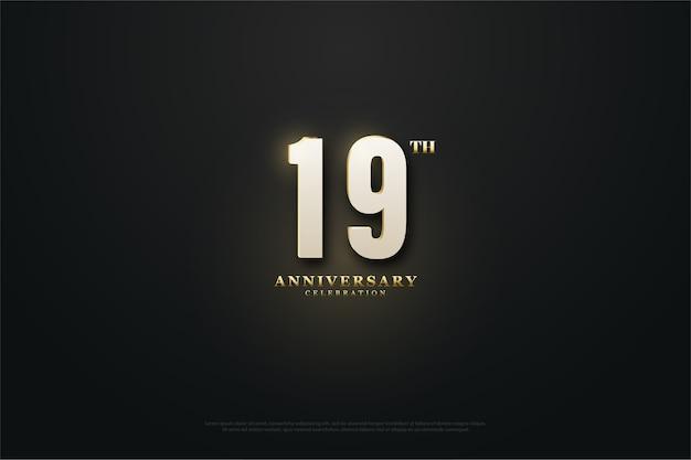 Anniversario del xix