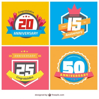 Distintivi anniversario