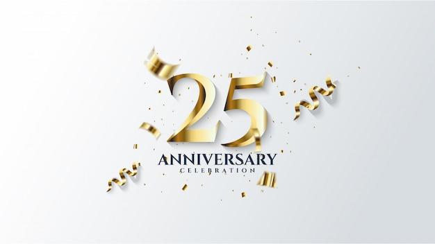 Sfondo di celebrazione di anniversario