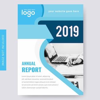 Brochure aziendale del rapporto annuale