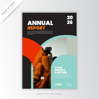 Relazione annuale corporate, design creativo
