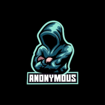 Hacker anonimo di ladro di internet
