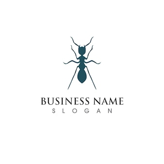 Immagine vettoriale del logo e del simbolo della formica