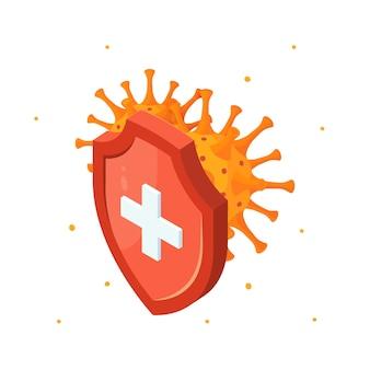 Illustrazione di resistenza ai farmaci antibiotici in vista isometrica