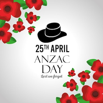Il giorno di anzac non dimentichiamo il memoriale della festa di auguri