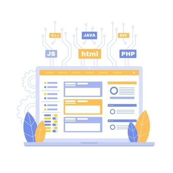 Concetto di sviluppo di app