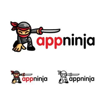 Logo ninja app