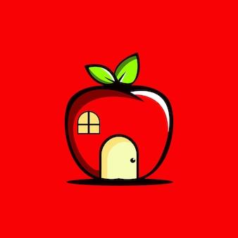 Logo apple house