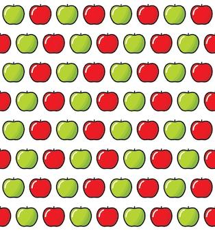 Modello senza cuciture di mela