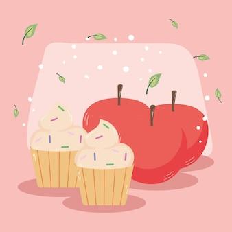 Mele e cupcakes