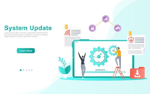 Il team di sviluppo dell'applicazione garantisce l'illustrazione degli aggiornamenti di sistema