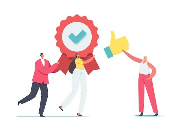 Approvazione, concetto di miglioramento del livello di qualità