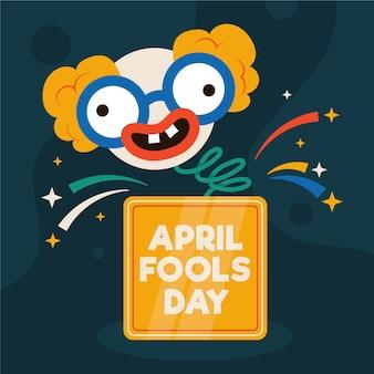 Illustrazione del giorno degli sciocchi di aprile