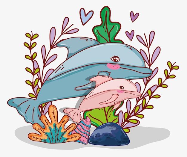 Vita marina acquatica