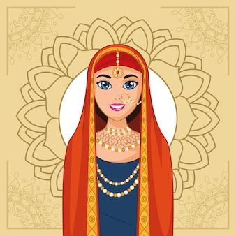 Sposa araba e mandala