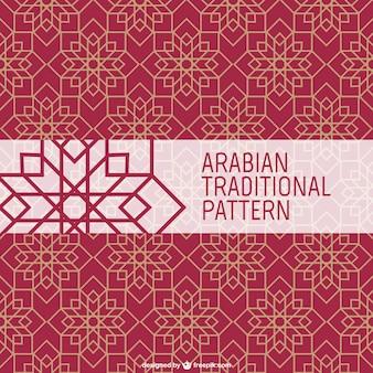 Modello tradizionale arabo Vettore Premium