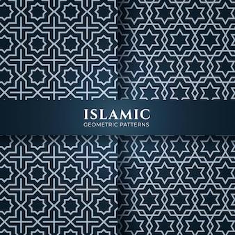 Modelli senza cuciture di stile islamico arabo
