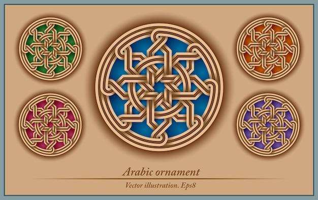 Ornamento arabo, geometrico