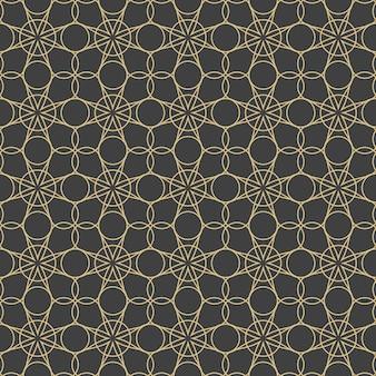 Ornamenti arabi. modelli, sfondi e sfondi per il tuo design. ornamento tessile. illustrazione vettoriale.