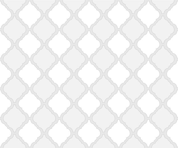 Motivo a piastrelle in stile arabo come sfondo arabesco per tessuto senza cuciture islamico o marocchino