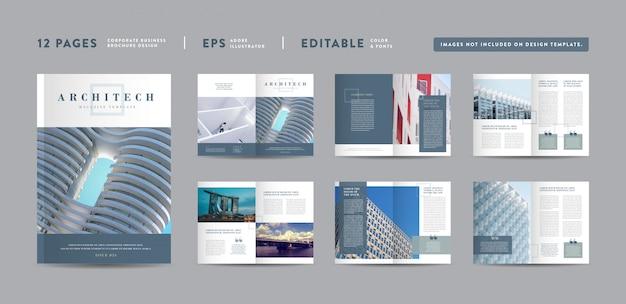 Progettazione di riviste di architettura | layout del lookbook editoriale portafoglio multiuso | design del libro fotografico