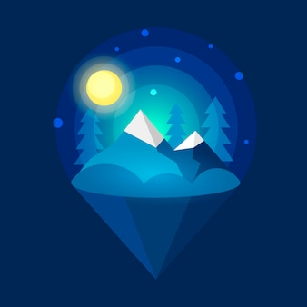 Northern lights artico