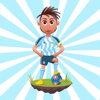 Calciatore della nazionale argentina