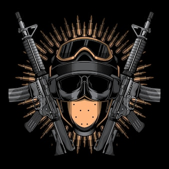 Logo dell'arma dell'esercito