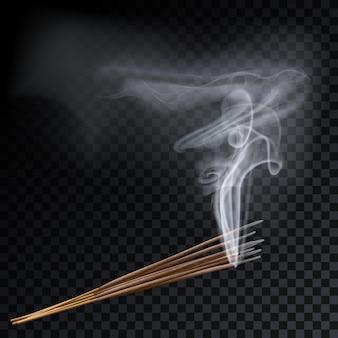 Aromaterapia aromaterapia con fumo a otto bastoncini