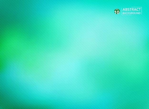 Arte dell'astrazione sfumatura morbida sfumatura verde su linee morbide linea di modelli diagonali