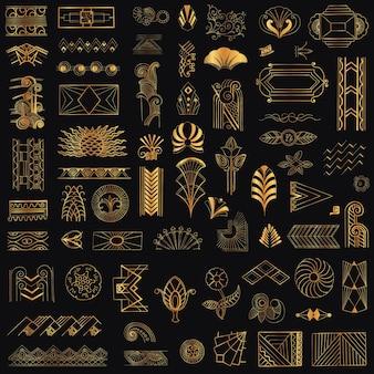 Cornici ed elementi di design vintage art déco