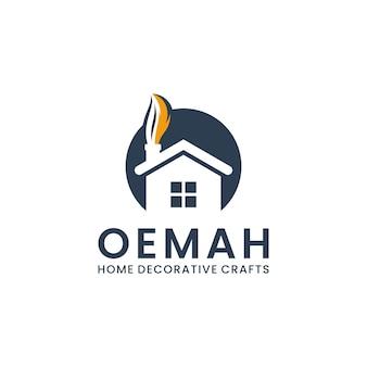 Ispirazione per il design del logo per la casa d'arte