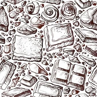 Vecchia illustrazione di struttura di arte su priorità bassa bianca