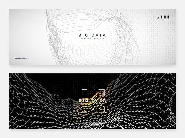 Sfondo di intelligenza artificiale. tecnologia digitale, deep learning e concetto di big data. visual tech astratta per il modello di rete. sfondo di intelligenza artificiale industriale.