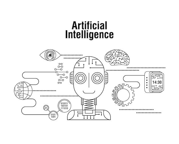 Globo di intelligenza artificiale