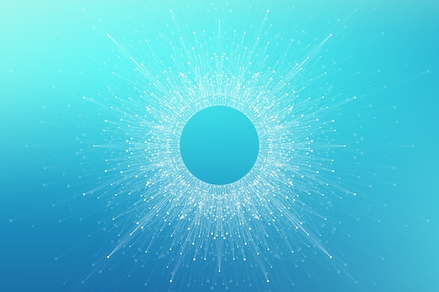 Logo di intelligenza artificiale. intelligenza artificiale e concetto di apprendimento automatico.